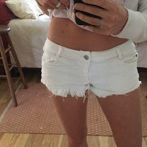 Brandy Melville white shorts